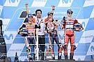 Marquez ad Aragon ha portato sul podio