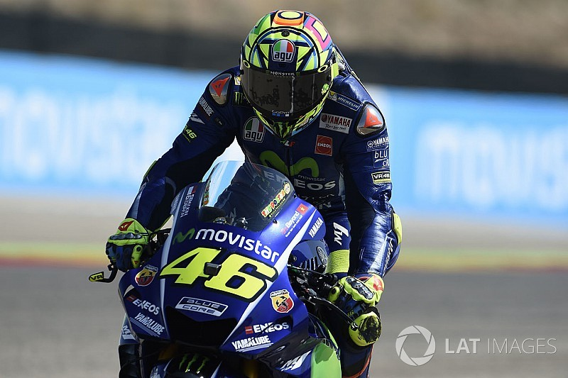 "Rossi expects ""more problems"" with leg at Motegi"