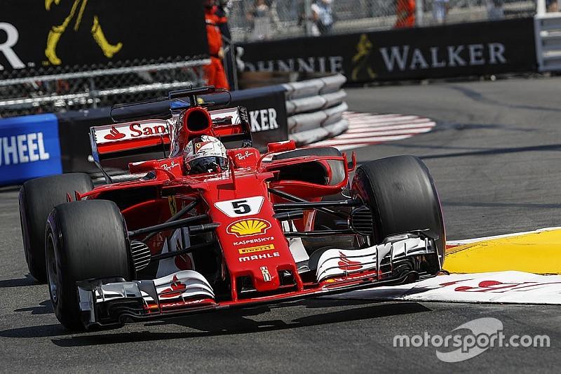 "Vettel ""terlalu bernafsu"" saat lap terakhir di Q3"