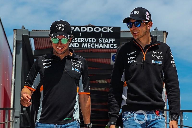Force India: La relación Pérez/Ocon será más difícil de manejar ahora