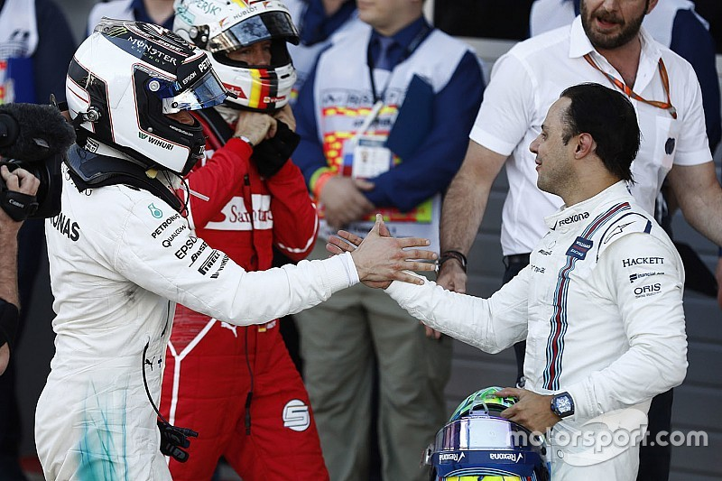 """""""Le debo una cerveza a Massa"""", dice el jefe de Mercedes"""
