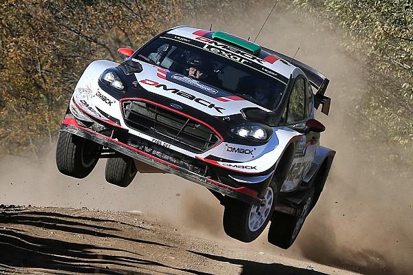 WRC Rallye Argentinien: Elfyn Evans verliert Großteil des Vorsprungs