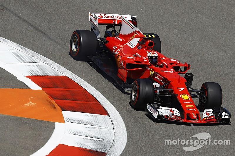 Räikkönen retrouve la première ligne à Sotchi