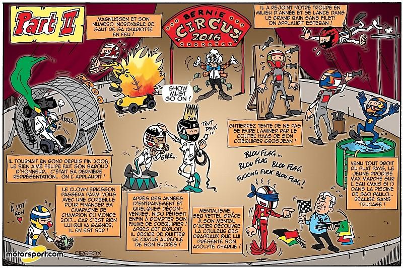 L'humeur de Cirebox - Bienvenue au Bernie Circus ! (Partie 2)