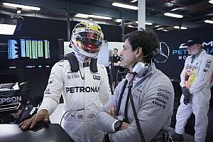 F1 Noticias de última hora En Mercedes no se preocupan por Lewis Hamilton