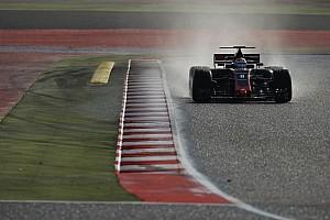 Formule 1 Actualités Grosjean - Des pneus pluie réussis, des inters pas super