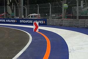 Formule 1 Actualités La FIA durcit les règles des limites de la piste à Singapour