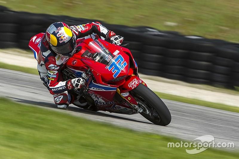 Honda: sarà Jake Gagne il sostituto di Nicky Hayden a Laguna Seca