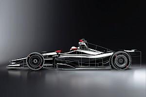 IndyCar Новость Появились первые рендеры машин IndyCar 2018 года