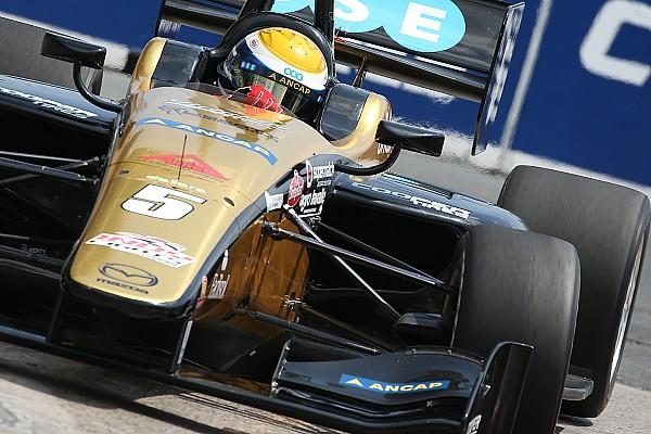 Indy Lights Reporte de calificación Urrutia largará quinto en la primera carrera en Toronto