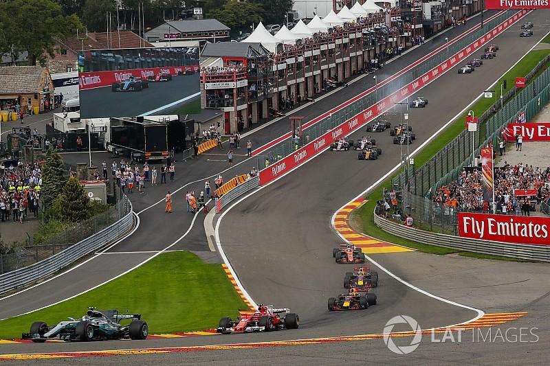 El GP de Bélgica seguirá en Spa por otros tres años