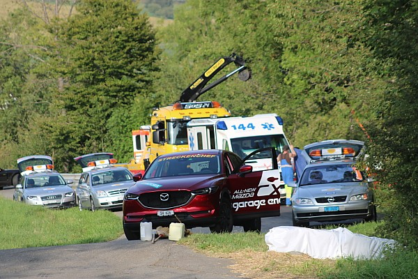 Hillclimb Breaking news Driver killed in Swiss hillclimb crash
