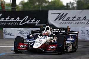 IndyCar Отчет о гонке Рейхол одержал вторую подряд победу в Детройте, Алешин 16-й