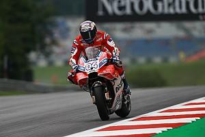 MotoGP Relato do treino livre Dovizioso bate Viñales na Áustria; Rossi não entra no top-10