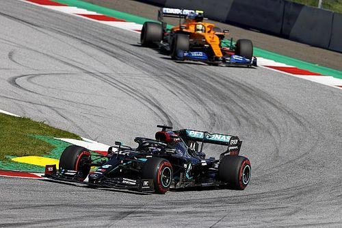 Hamilton logró un nuevo récord histórico en Austria