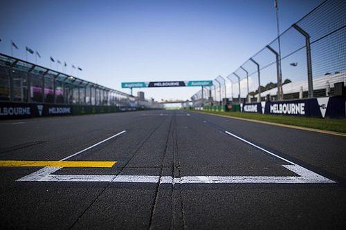 'Grand Prix van Australië na spoedoverleg van de baan'