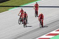 Fotos: los pilotos de F1 ya pisan el circuito de Red Bull Ring