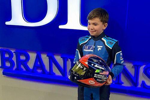Emmo Fittipaldi Jr. lands major sponsor deal, aged 12