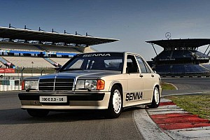 ¡El Mercedes-Benz 190E de Ayrton Senna sigue circulando!