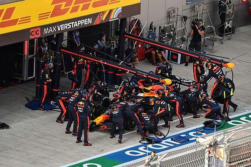 Red Bull, Sochi'de 2020'nin en hızlı pit stopunu yaptı