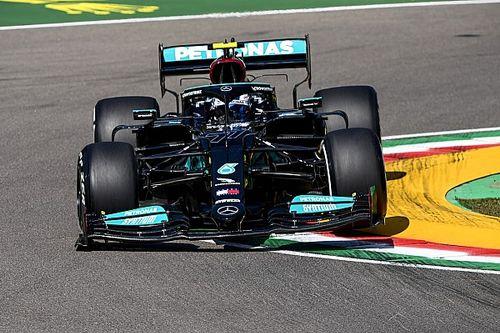 Два Mercedes и Ферстаппен уложились в 0,06 с на первой тренировке в Имоле. Мазепин опять запомнился разворотами