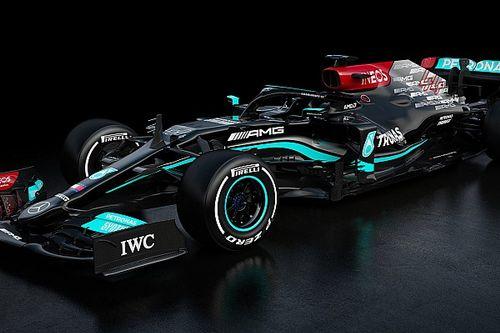 Fotogallery F1: ecco la Mercedes W12 di Hamilton e Bottas