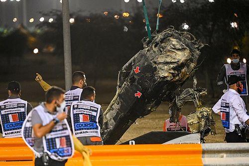 Análise técnica: o que as fotos mostram sobre o acidente de Grosjean no Bahrein