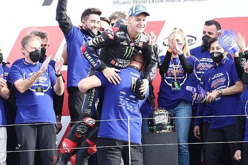 Quartararo ramène le titre à Yamaha, six ans après Lorenzo