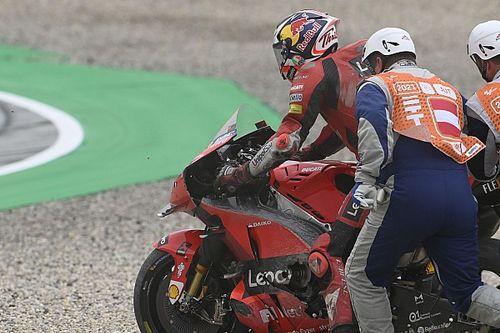"Miller: Styria MotoGP crash ""really stung"""