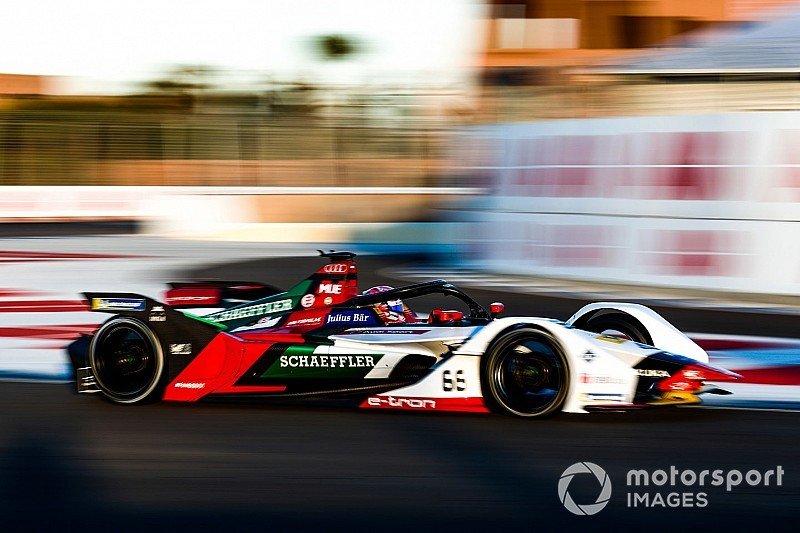 Muller tops Marrakesh Formula E test for Audi