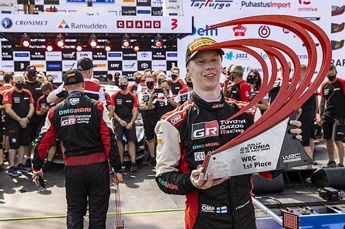 Harri Rovanpera 'unsure how heart is working' after son's maiden WRC win