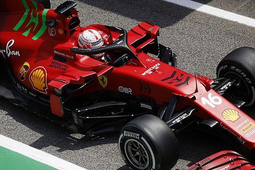 Leclerc: ''Amacımız Mercedes ve Red Bull'un arkasında kalmak''