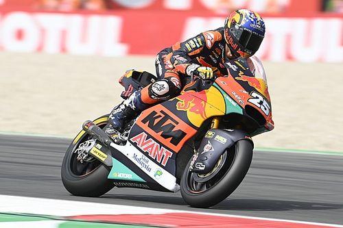 Moto2 Assen: Raul Fernandez, 9. sıraya kadar gerilediği yarışı kazanmayı başardı
