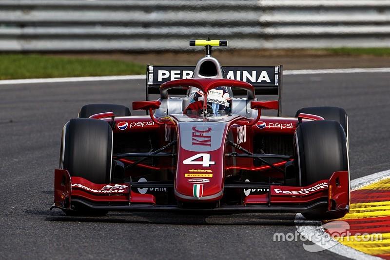 """De Vries na eerste F2-pole Spa: """"En nu vol voor de winst"""