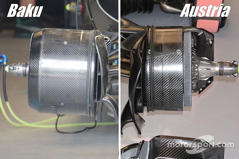 Технический анализ Гран При Австрии: тормоза в центре внимания