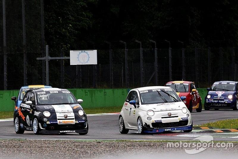 Trofeo Abarth Selenia: a Monza Alex Campani vince anche Gara2