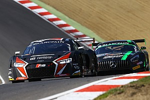 Blancpain Sprint Résumé de course Audi s'impose à Brands Hatch avec Christopher Mies et Enzo Ide