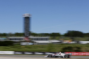 IndyCar Practice report Barber IndyCar: Power fastest in red-flagged first practice
