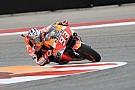 Austin, Libere 3: Marquez il più veloce prima della pioggia