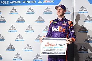 NASCAR Cup Qualifiche L'ultima pole dell'anno è di Denny Hamlin, ma Truex Jr è in prima fila