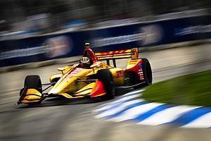 IndyCar Race report Detroit IndyCar: Hunter-Reay wins Race 2 after Rossi error