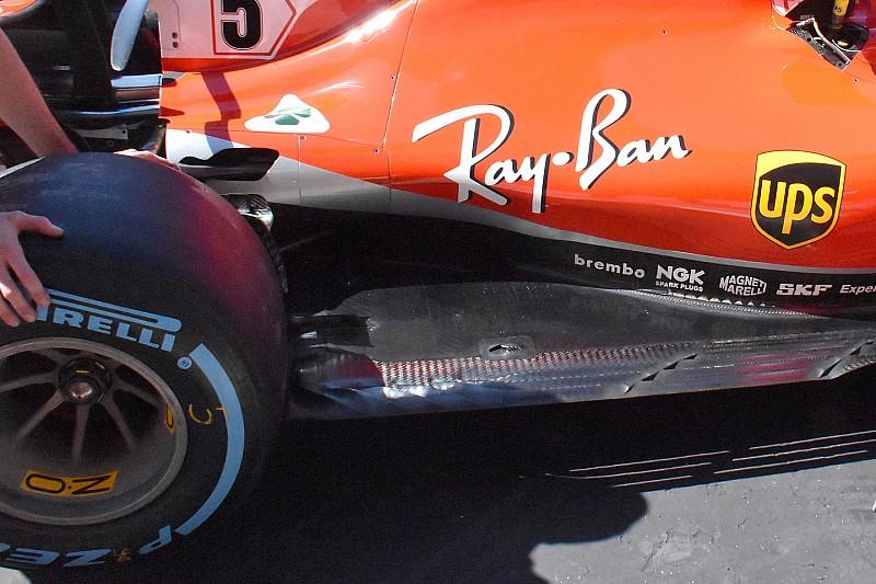 Ferrari, Silverstone'a yeni bir güncelleme paketiyle geldi