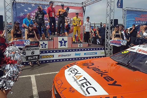 NASCAR Euro Promoted: Ercoli wins NASCAR GP UK after testing VEXATEC agility shirt