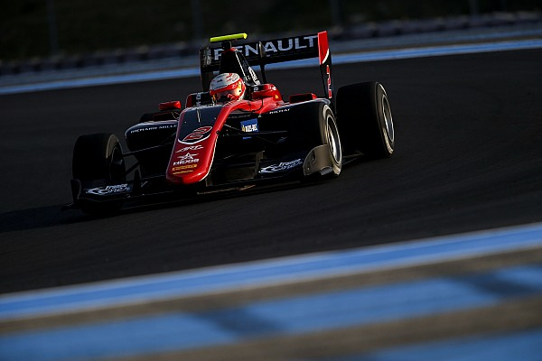 GP3 Testing report Hubert leads Ilott on second day of Paul Ricard testing