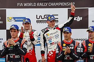 WRC Resumen de la etapa Tanak logra su tercer triunfo al imponerse en Argentina