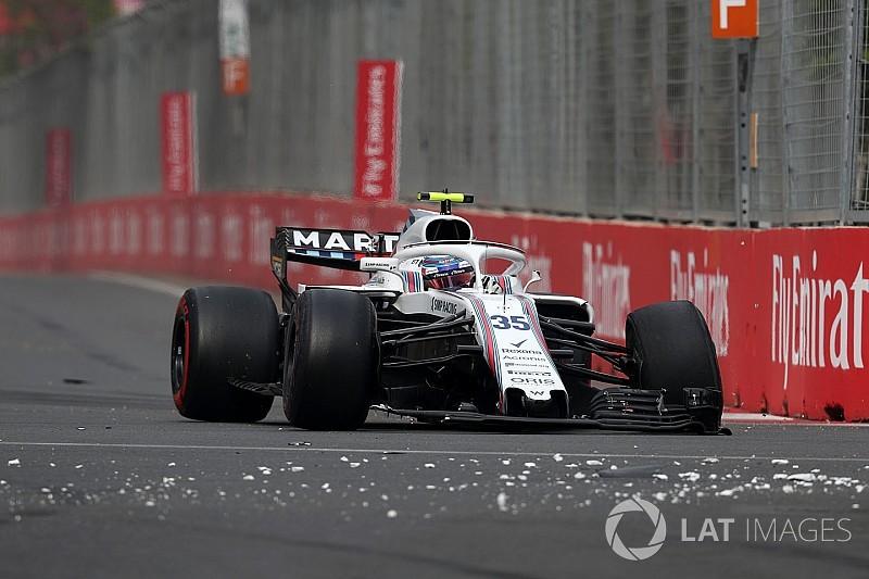Sirotkin recebe punição no grid por acidente em Baku