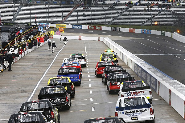 NASCAR Truck Breaking news Martinsville Truck race halted and postponed after just 24 laps