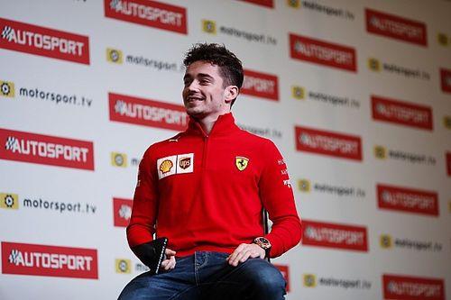 """A skydive that """"upset"""" Ferrari, and more - Leclerc Q&A"""