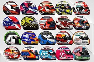 ¿Qué piloto de F1 tiene el casco más bonito en 2019?
