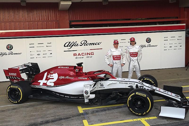 Alfa Romeo und Haas präsentiert: So sieht Räikkönens neuer C38 aus